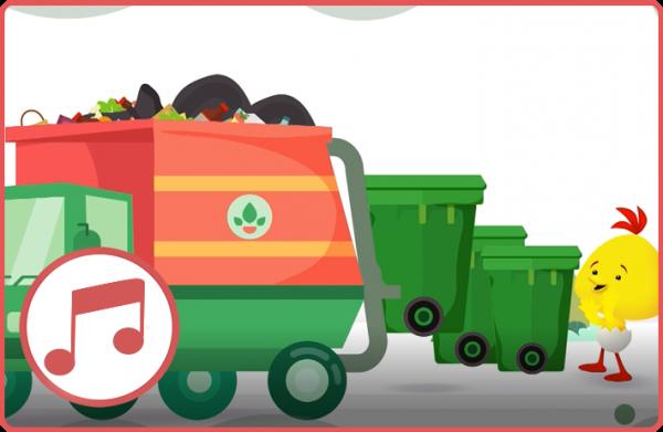 משאית זבל – מגלים צלילים עם לולי – שירים