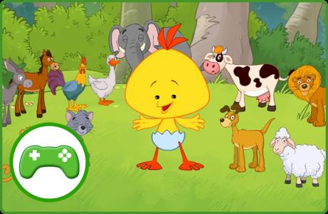 משחק מי מה מו – מגלים את החיות