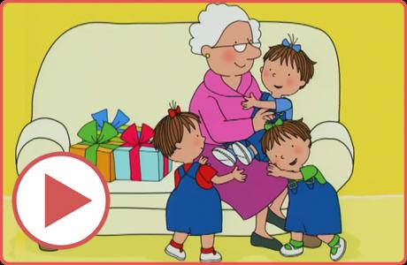 השלישייה השובבה – המתנות של סבתא